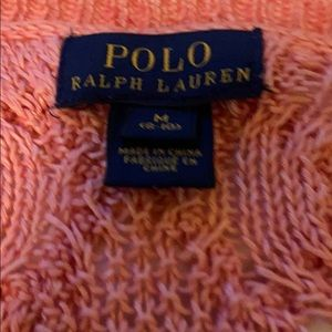 Pink Polo sweater